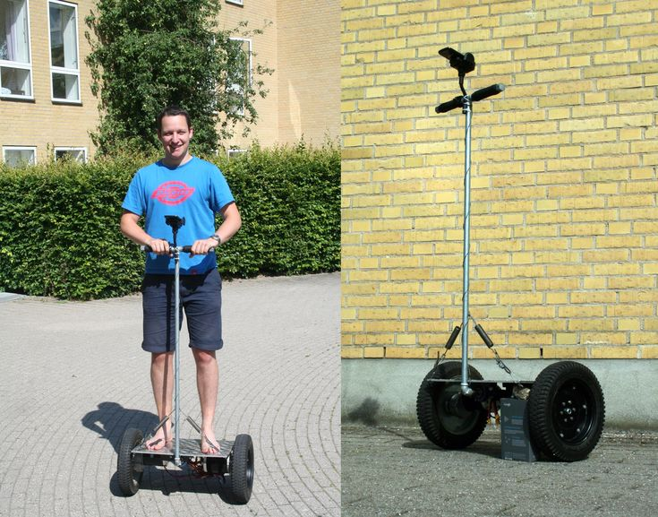 Impressive Homemade Segway Is The Real Deal