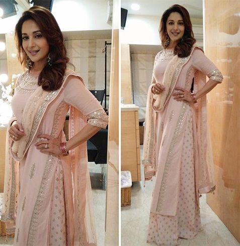 Madhuri Dixit Anita Dongre dress