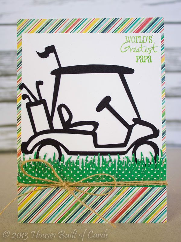 Father's Day Golf Theme Cards | masculine card | Golf ...