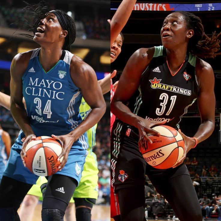Congratulations to @sylvia_fowles & @tina31charles for being named WNBA Players of the Week!…""