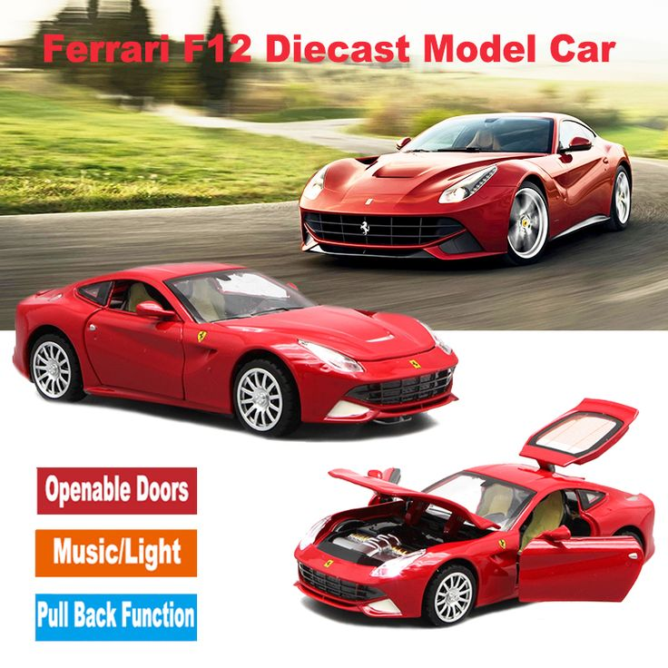 Kids' Diecast Scale Models Toys Cars In Fast And Furious Movie With Four Different Colors