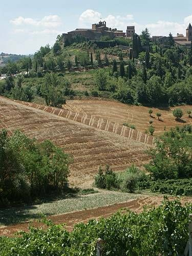 Certaldo Alto- A small tuscan town between Sienna and Florence