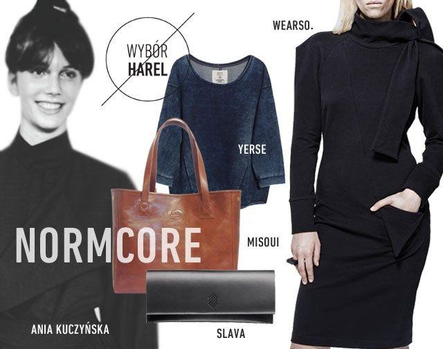 BLOGGERS CHOICE: Normcore www.hushwarsaw.com #hushwarsaw #hushwrsw #special #brands #polish #fashion #trade #fair #bloggers #choice #harel #normcore #yerse #slava #misoui #aniakuczynska #wearso