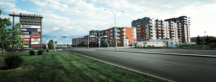 Quartier Laval, à deux pas des #condos Urbania