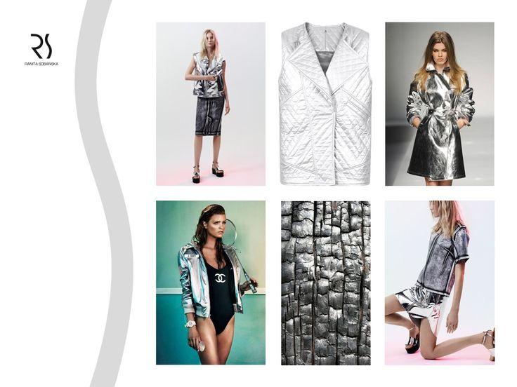 silver metallic vest - Ranita Sobanska  #rs #moodboard #fashion #ReadyToWear #PolishFashionDesigner #FashionDesigner #designer #sportfashion #ModaPolska #PolscyProjektanci #silver #metallic #vest
