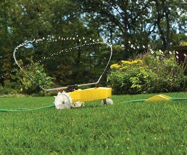 Traveling sprinkler! (Click for price)