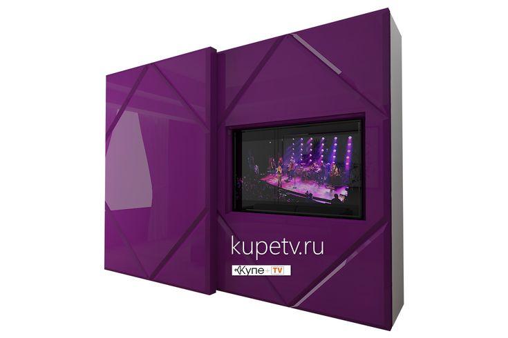 Встраиваемый шкаф-купе с телевизором - отличное решение для гостиных и подростковых комнат!
