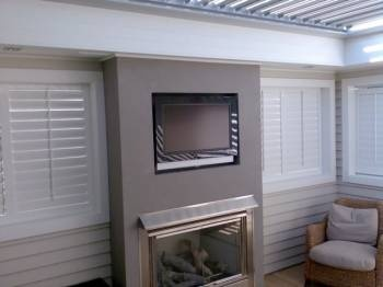 has most of what we're looking for - half height shutters, roof louvres plus fireplace
