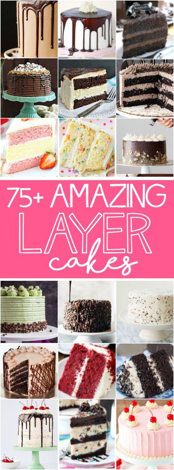 75+ Tolle Schichtkuchen www.keatseats.com …   – Cakes