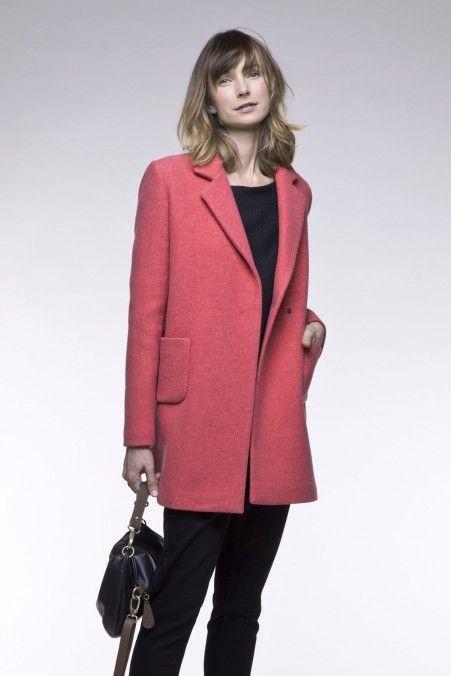 Préférence Les 25 meilleures idées de la catégorie Manteau femme italien sur  QC86