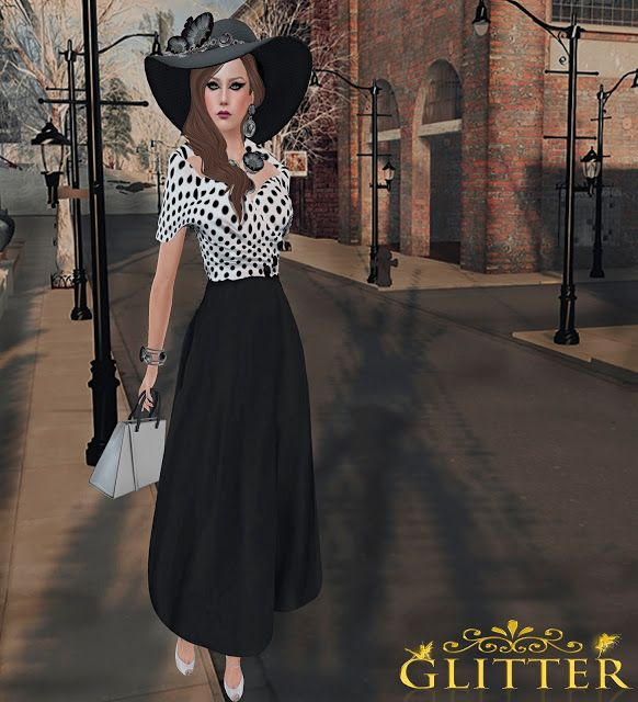 Look Style Fashion 123: 152.*GLITTER* AUDREY EXCLUSIVE FOR FABULOUS EVENT