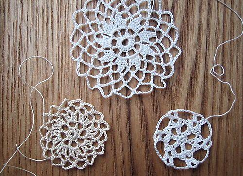 tiny crochet lacePretty Small, Tiny Crochet, Crochet Lace, Wren Handmade