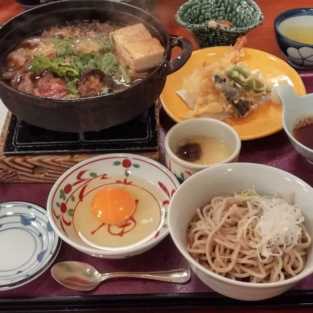 After a bath in the onsen really good dinner 温…