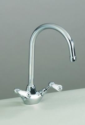 St James Monobloc Sink Mixer with Levers