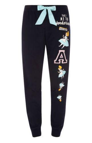 Ladies-DISNEY-ALICE-IN-WONDERLAND-Pyjamas-Primark-Womens-T-shirt-Leggings