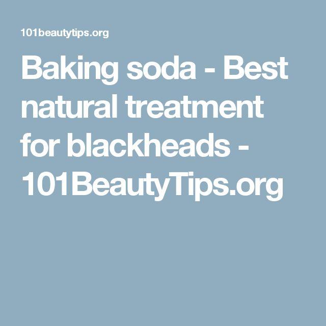 Baking soda - Best natural treatment for blackheads - 101BeautyTips.org