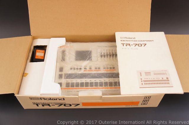 MATRIXSYNTH: Roland TR-707 w/ Original Box