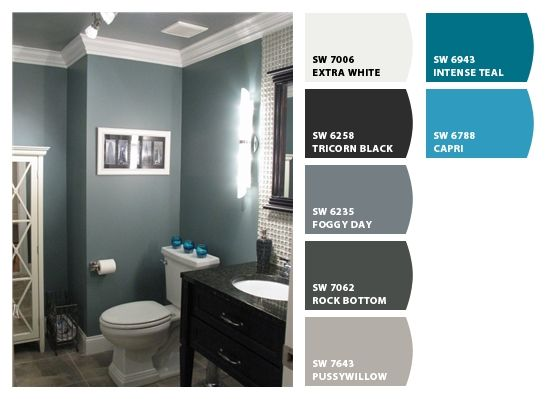 Chip It! by Sherwin-Williams – gRAYS & bLUES Foggy day for ...
