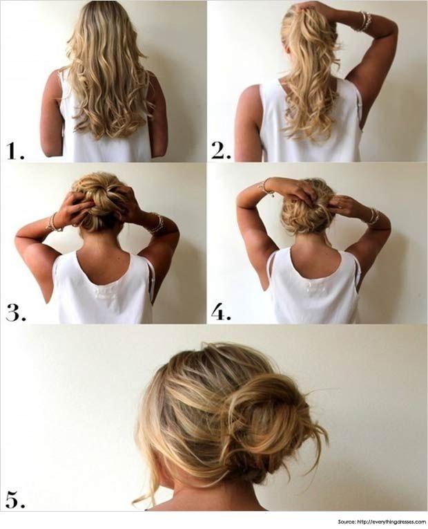 15 Messy Bun Hairstyles For Long Hair | Long Hairstyles
