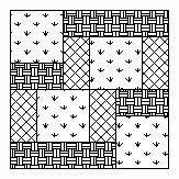 Charity Block free pattern~ great block to use at Bellevue for charity quilting