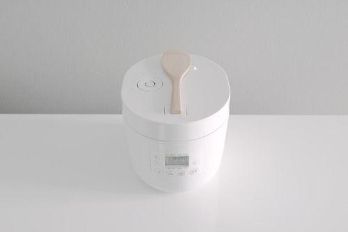 Product - stripetee: Muji Rice Cooker by Naoto Fukasawa