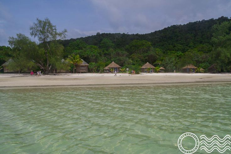 Day trip with TBC to Koh Rong Sanloem, a paradise island not far from Sihanoukville/