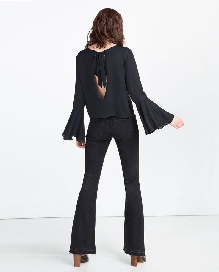 OPEN BACK TOP-View All-TOPS-WOMAN | ZARA United States