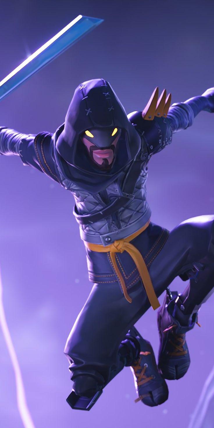 Fortnite, video game, skin, Mythic Cloaked, star ninja