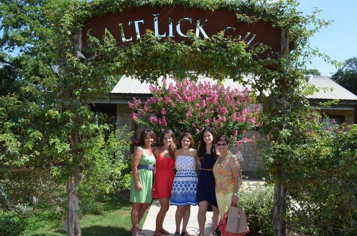 The salt lick winery think