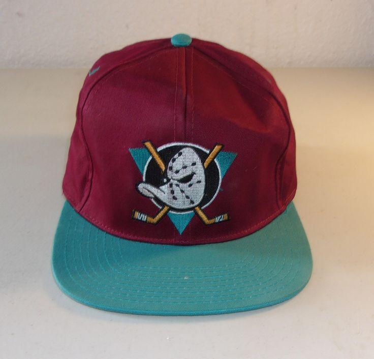 Vintage Ducks NHL Hockey Hat Officially Licensed Product NHL   www.bonanza.com/booths/mancavevault