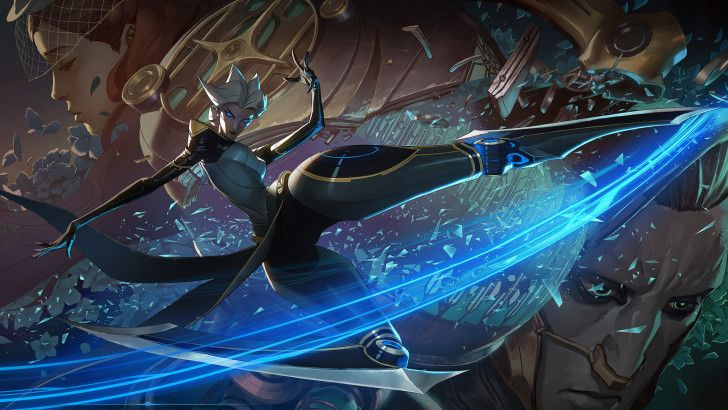 Camille Champion League of Legends Wallpaper