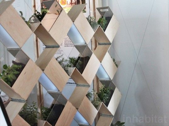 Herb2 from FABRIKAAT Is an Innovative Indoor Vertical Garden Wall    Read more: Herb2 from FABRIKAAT is an Innovative Indoor Vertical Garden | Inhabitat - Sustainable Design Innovation, Eco Architecture, Green Building