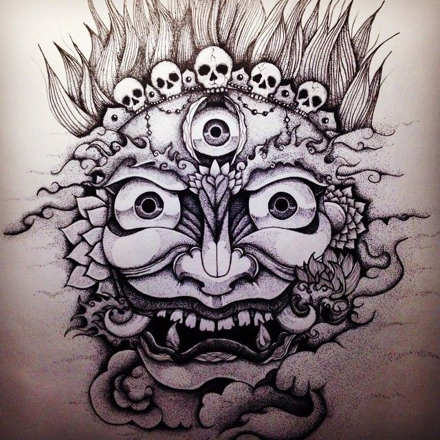 mahakala done by iker basauri ratings and reviews for tattoo artists and. Black Bedroom Furniture Sets. Home Design Ideas