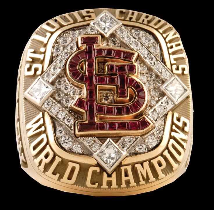 2011 World Series Ring | 2006 St Louis Cardinals World Series Ring | Rings That Bling