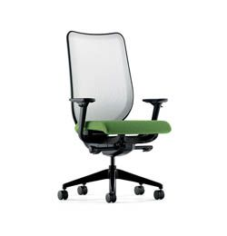 HON Nucleus Knit Mesh Back Task Chair With Synchro Tilt, Seat Glide,  Adjustable Arms And Fog Mesh Back, Charcoal Fabric HON Nucleus Seating Is  Constructed ...