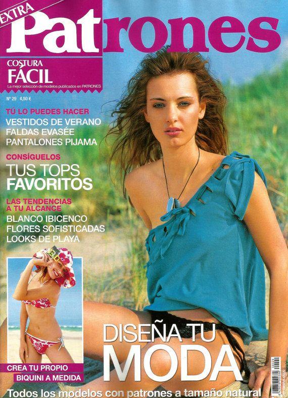 PATRONES magazine 29 Costura fácil (easy sewing)