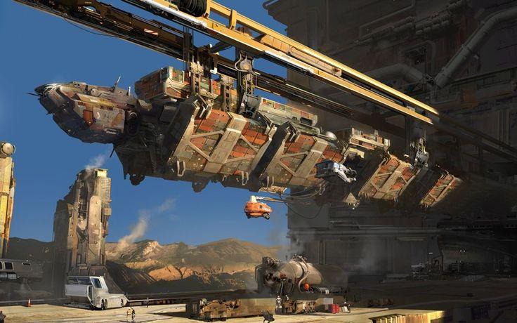 Dreadnought, космическая станция