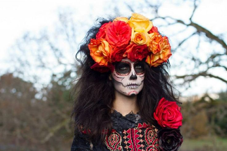 Day of the Dead Photoshoot with Foxx Foto Makeup by Erin Bradley Hair by Jessica Kurtz Wardrobe by Discarded Couture