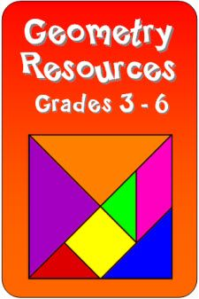 Laura Candler's Geometry Resources - Loads of free geometry printables and other helpful resources for grade 3 through 6