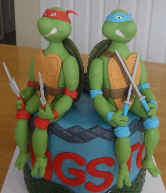 Gumpaste Ninja Turtles, via Flickr.