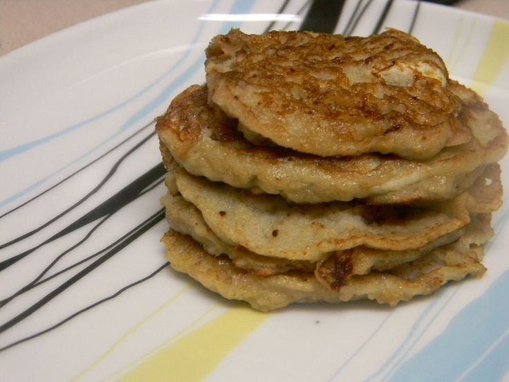 I had lofty aspirations with these pancakes, nearly all of which fell flat on their faces. First, I'd wanted to make it egg-free: not using any egg substitutes as I have practically nil right…