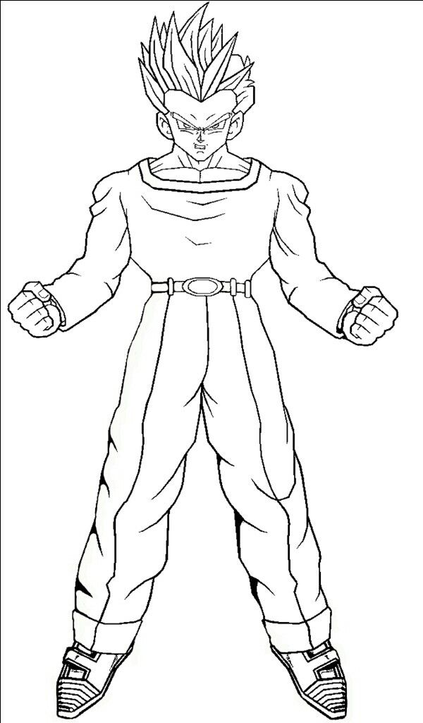18 best Dragon Ball Z images on Pinterest | Coloring pages ...