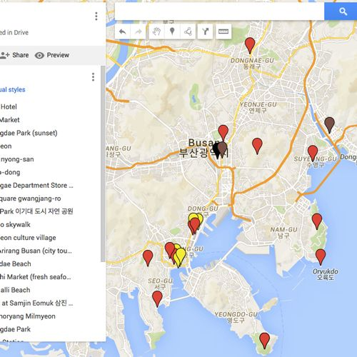 How To Export Your Google Map Itinerary To Your Phone & Use It ... Download Google Map Offline For Android on