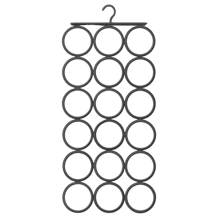 IKEA - KOMPLEMENT, Multi-use hanger, Keeps your shawls, belts, ties and other…