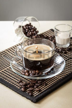 A photo of coffee