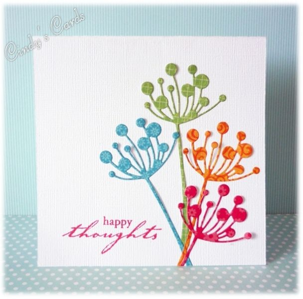Happy Thoughts by frenziedstamper - Cards and Paper Crafts at Splitcoaststampers