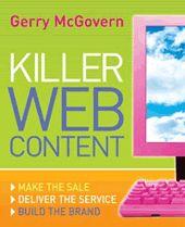 Killer Web Content | Gerry McGovern