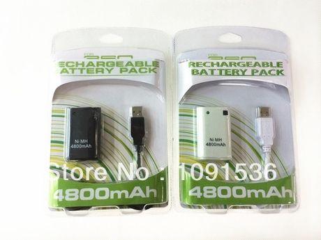 4800 мАч перезаряжаемый аккумулятор Ni-MH для Xbox 360 контроллер + 4800 мАч зарядное устройство для Xbox 360