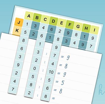 Pomůcky do matematiky :: Námořníci z 2.B