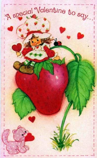 Valentine S Day Vintage Toys : Best images about strawberry shortcake on pinterest